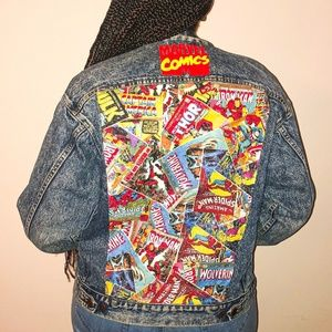 Marvel Comics Custom Jean Jacket